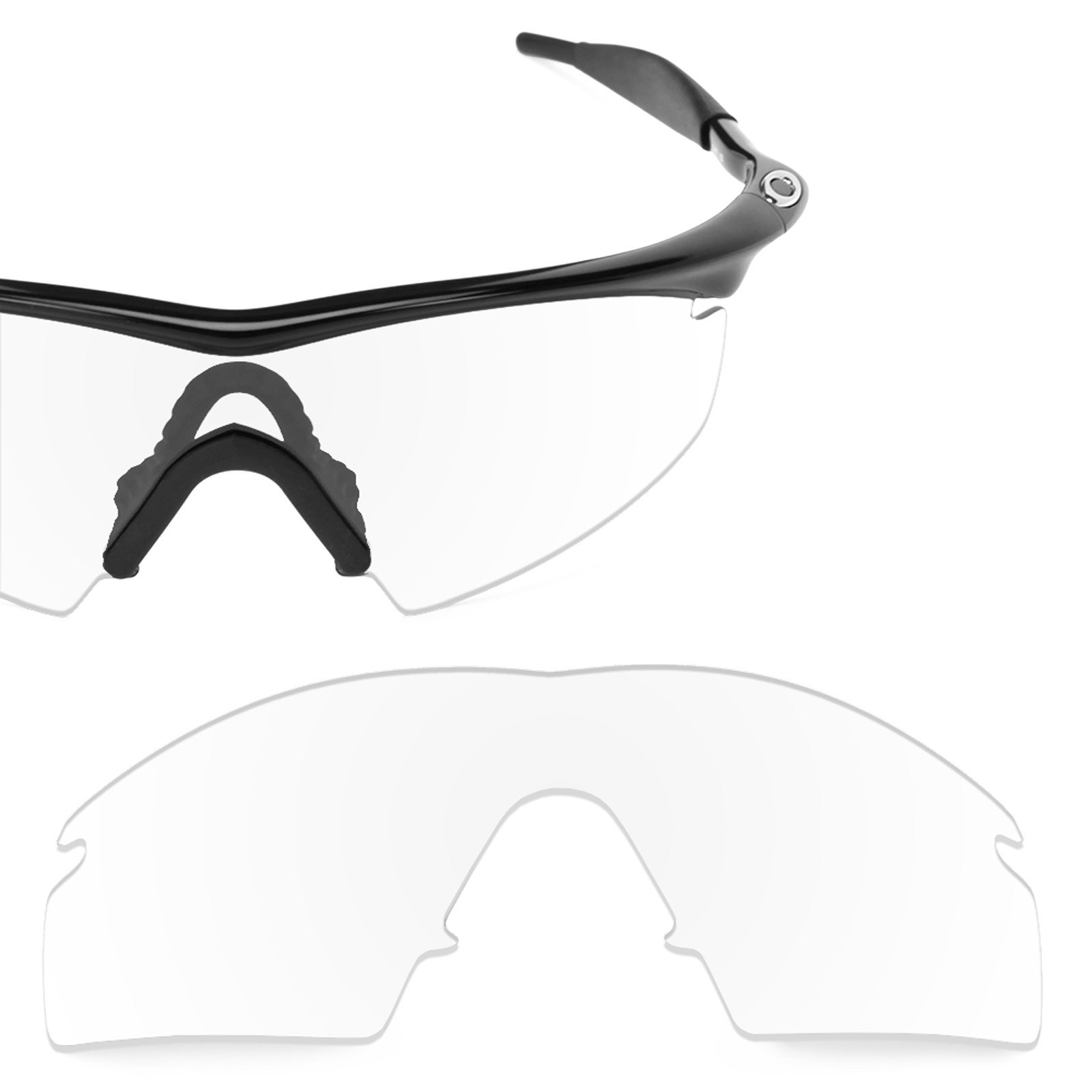 Revant Replacement Lens for Oakley M Frame Strike Crystal Clear by Revant