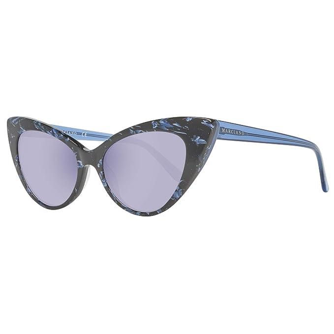 Guess by Marciano Sonnenbrille Gm0784 89C 53, Gafas de Sol para Mujer, Azul (Blau), 53.0
