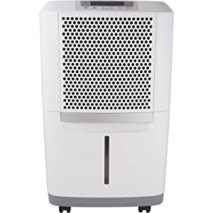 Frigidaire FAD704DWD Energy Star 70-pint Dehumidifier with Effortless Humidity Control, White