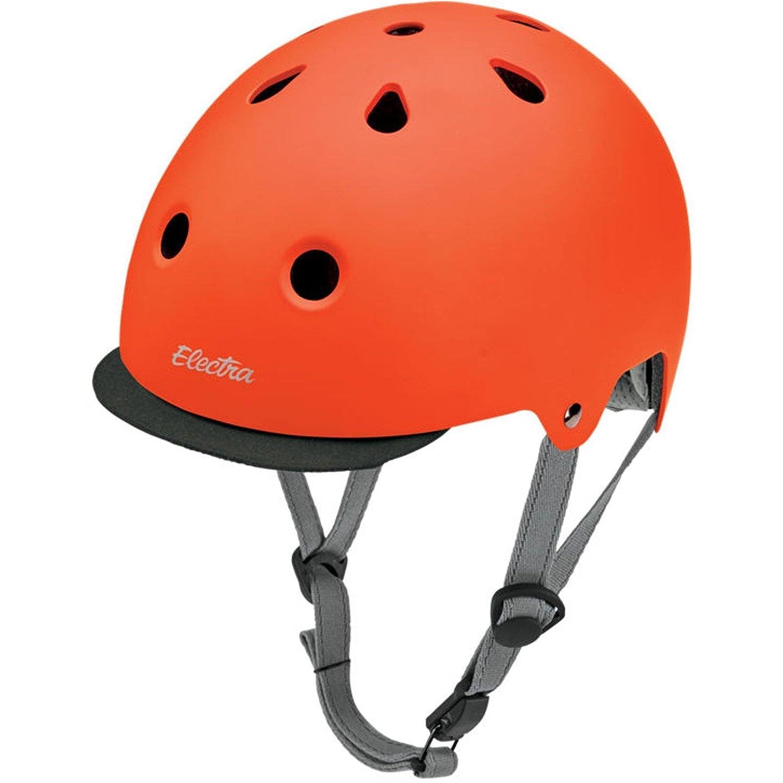 Electra Bike und Skate Helm Helm Skate & 039;Tangerine& 039; Solid Farbe Helmet, Größe (Kopfumfang) 48-54 cm ec374b
