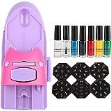 Amazon.com: Woyisisi - Kit de impresión de manicura para ...