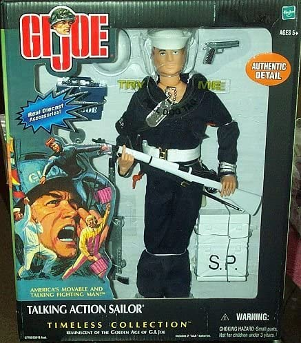 GI Joe Timeless Collection-Talking Action Sailor 1//6 Rare DIE CAST Ammo Box