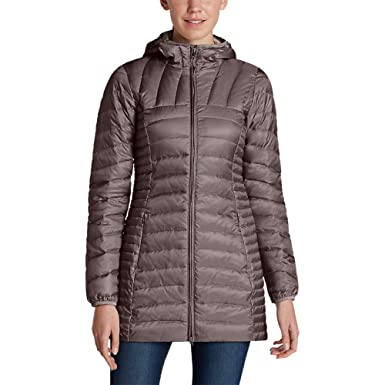 9edc8530b Amazon.com: Eddie Bauer Women's Astoria Hooded Down Parka: Clothing