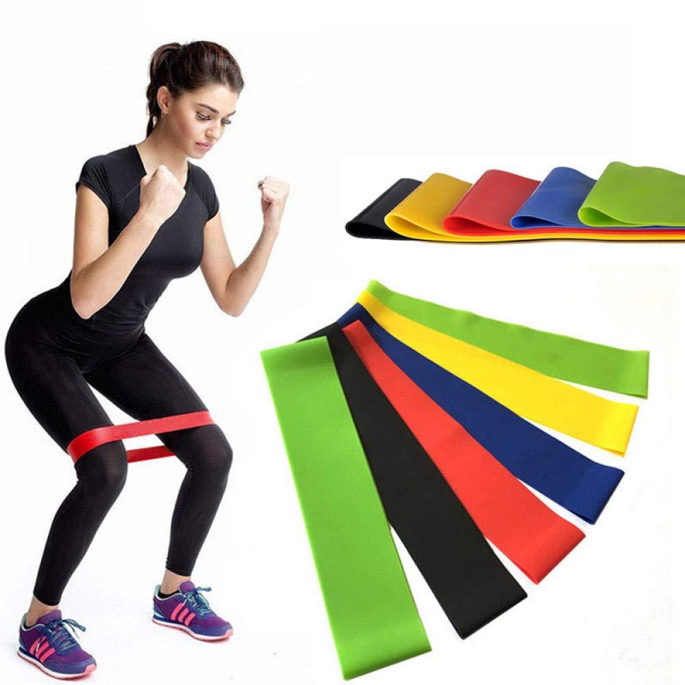 DHDHWL Widerstandsb/änder Krafttraining Widerstandsb/änder Elastische Gummib/änder Fitnessschlaufe Yoga Heimfitness Workout Training Zugseil
