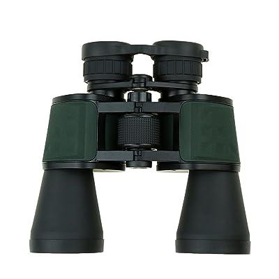 Télescope De Haute Définition Portatif Extérieur De 10x50 Vert Jumelles De Grand Angle
