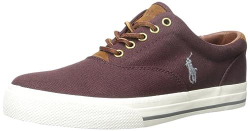 Polo Ralph Lauren Vaughn Fashion - Zapatillas, Color Rojo, Talla 47 EU D (
