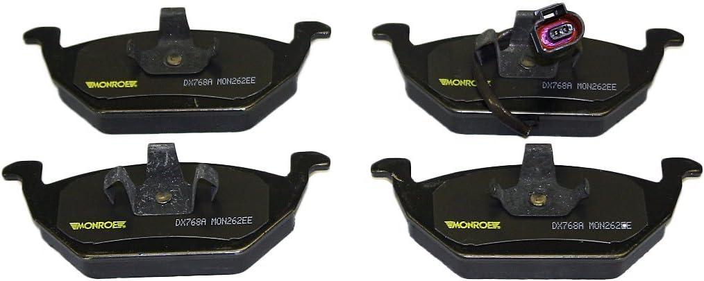 Monroe DX792A Dynamic Premium Brake Pad Set with Wire Wear Sensors