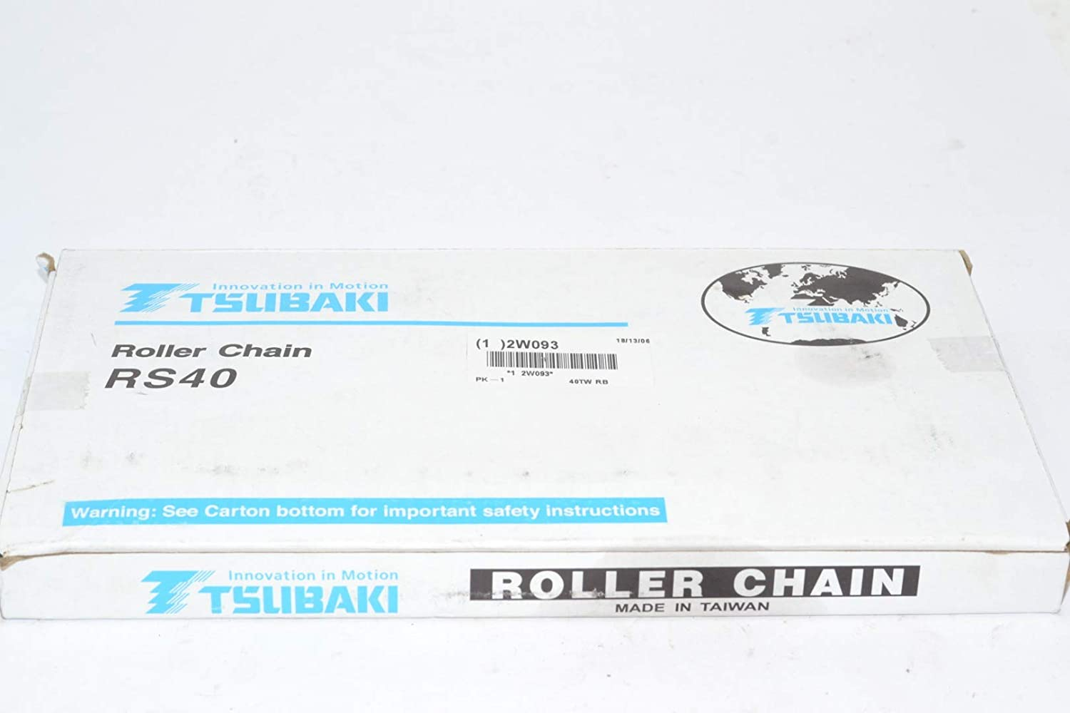 Roller Chain Riveted 10 Ft. 40 Ansi