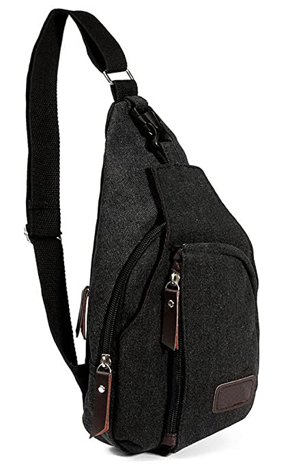 54a3db15646a Image Unavailable. Image not available for. Color  CC-JJ - Bag Men Sport  Canvas Messenger Bags Outdoor Travel