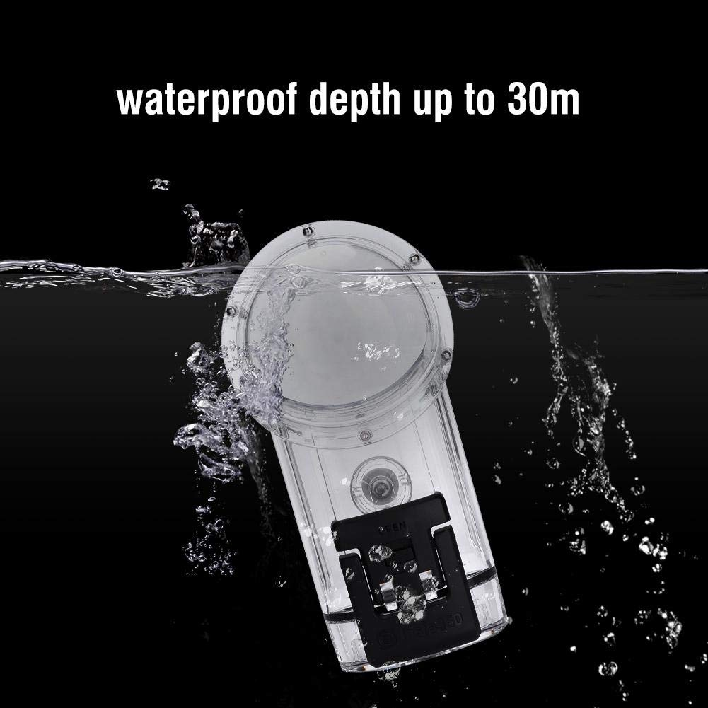 Acouto 30m Underwater Diving Waterproof Housing Protective Case Cover for Insta360 ONE X Camera by Acouto (Image #3)