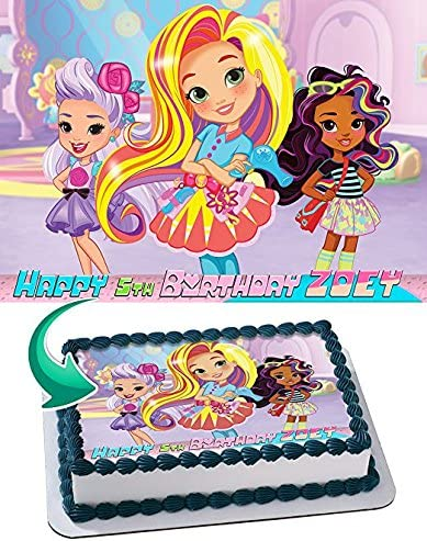 Enjoyable Amazon Com Sunny Day Nick Jr Nickelodeon Edible Cake Topper Funny Birthday Cards Online Alyptdamsfinfo