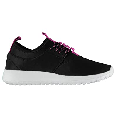 Rock and Rags Womens Lace Up Trainers Runners Padded Ankle Collar Lightweight