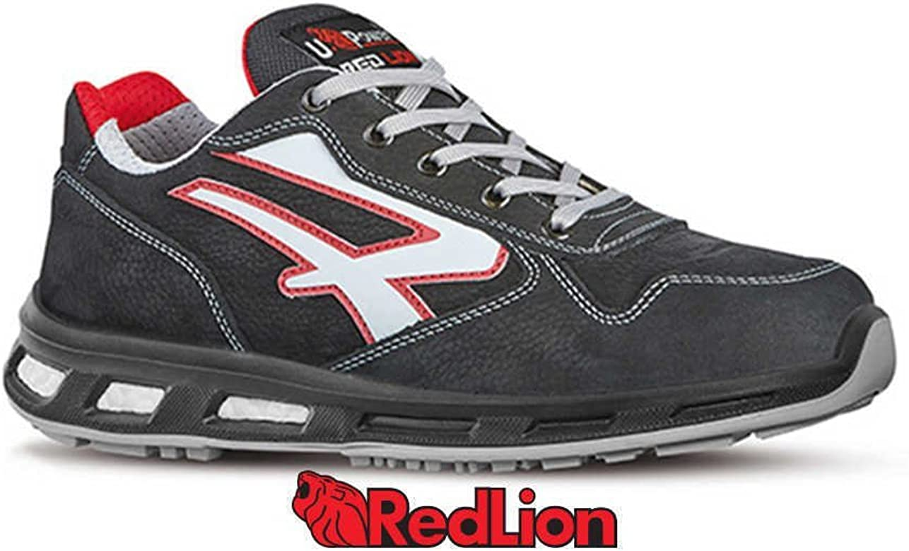 U-Power Zapatos de Seguridad Upower S3 SRC Red Lion Dharma ...