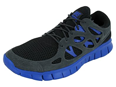 the best attitude 9485c 345e8 Nike Mens Free Run 2 EXT Breathable Running Shoes Black 8 Medium (D)