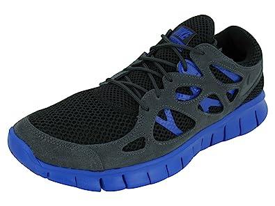the best attitude caa04 c9280 Nike Mens Free Run 2 EXT Breathable Running Shoes Black 8 Medium (D)