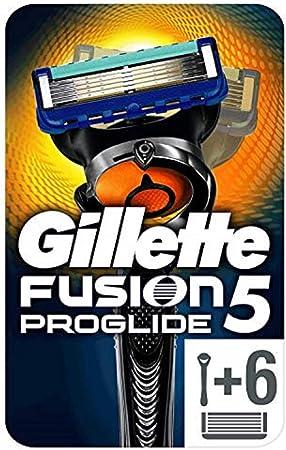 Las hojas más finas de Gillette (las primeras 4 hojas, al igual que ProShield),Menos tirones (en com