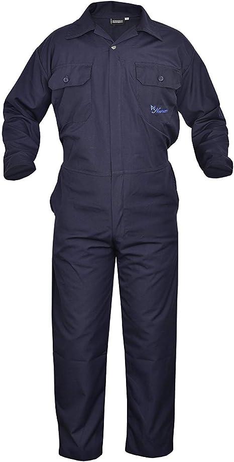 SHYNE KILTS U.K White Mens Coverall Overalls Boiler Suit Coveralls Work Wear Mechanics Boilersuit