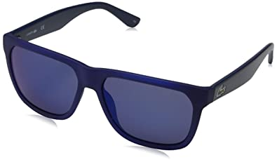 1c33227f5c Amazon.com  Lacoste Sunglasses - L732S (Blue Matte)  Shoes