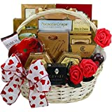 My Gourmet Valentine Gift Basket With Caviar