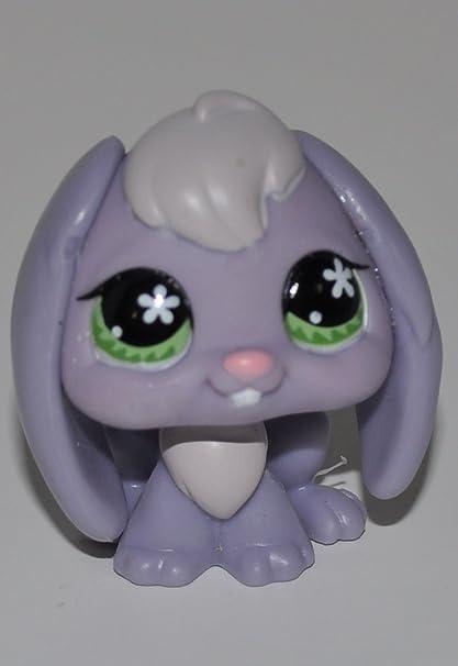 Amazon.com: Conejo # 648 (, color morado y gris, ojos verdes ...