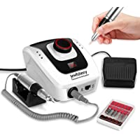 35000 rpm Professional Nail Drill Machine, Portable Electric Efile Drill for Shaping, Buffing, Removing Acrylic Nails…