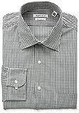Van Heusen Mens Regular Fit Tattersall Spread Collar Dress Shirt