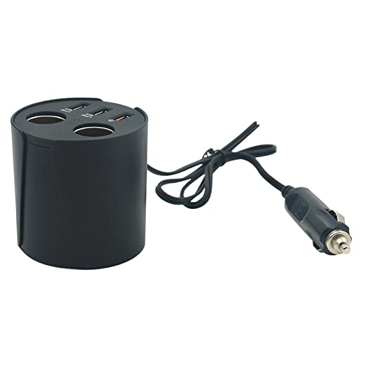 4 opinioni per Vococal- 3 Porta USB e Due Auto Presa Accendisigari Sigaretta Accendino Presa di