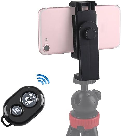 Adaptador de trípode para teléfono móvil y disparador remoto ...