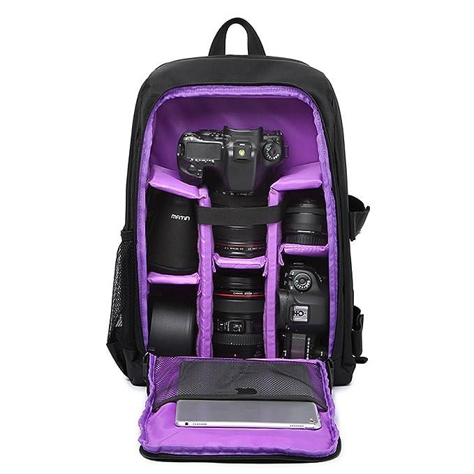 4 opinioni per Maxmer Zaino per Fotocamera DSLR SLR e Obiettivi Zaino Fotografico Professionale