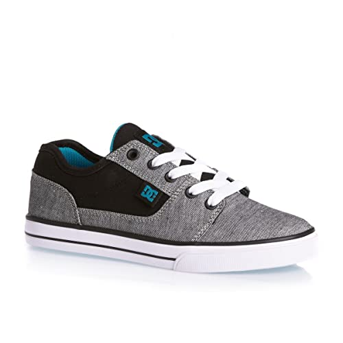 DC Shoes ADBS300050/ADBS300051 - Zapatillas de Skateboarding de Lona Niños, Gris (Grh Grey Heather), 39: Amazon.es: Zapatos y complementos