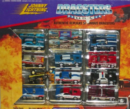 Johnny Lightning Collector's Edition Dragsters 11 Pack (Johnny Lightning Collector)
