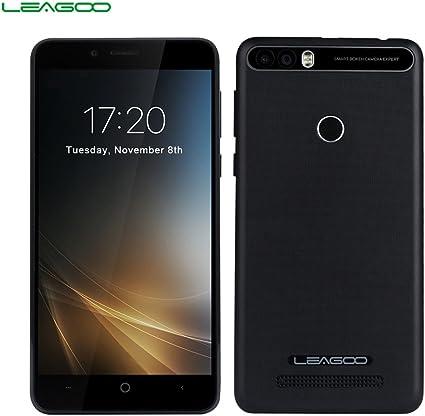 LEAGOO KIICAA Power - 3G Smartphone 5.0HD (Doble Cámara, 4000 mAh, Android 7.0, RAM 2gb ROM 16gb, MediaTek MTK6580 ...