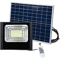 Refletor Solar Luminaria 25w holofote kit Placa Sensor Energia led
