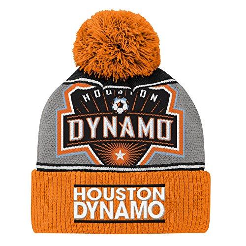 Outerstuff MLS Houston Dynamo Boys R S805T HO 4-7 Primary Replica Jersey, One Size, Bright Orange ()