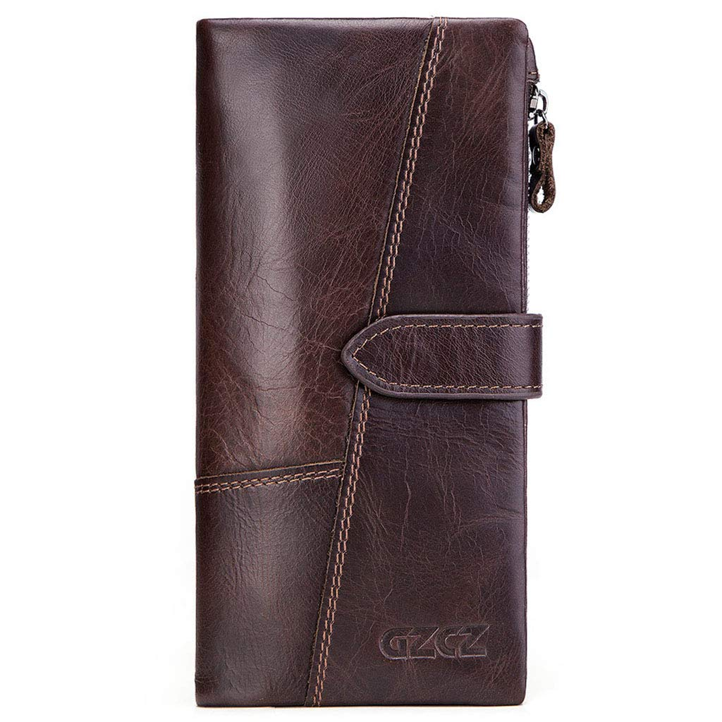 Brown Wallet, Ladies Wallet  Long Section  Casual Fashion Wallet  MultiFunction  Coin Purse  Clutch
