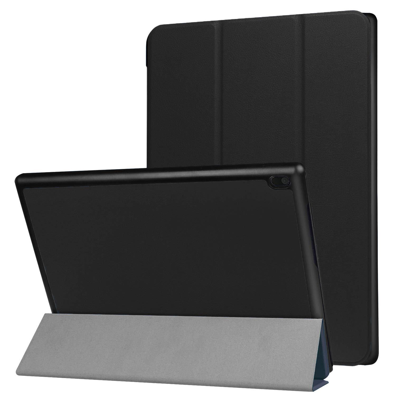 Robustrion Smart Trifold Hard Back Flip Stand Case for