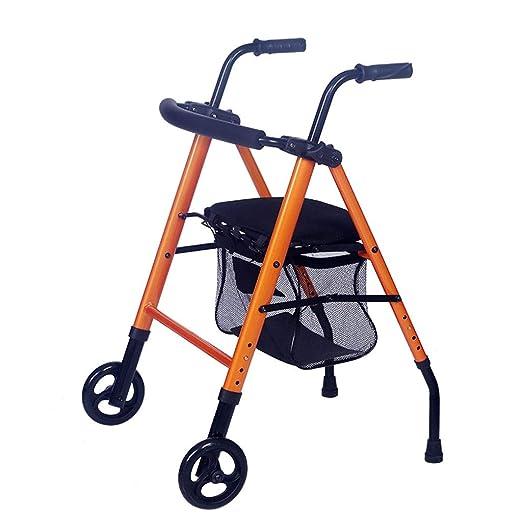 Carritos Andador Anciano Puede Sentarse Andador Plegable Compra De ...