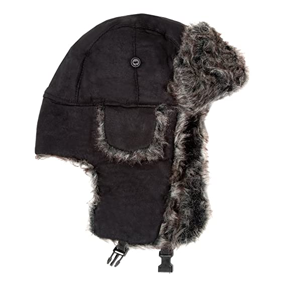 d2ddaf65af1 Luxurious Suedette Trapper Hat in a Selection of Colours