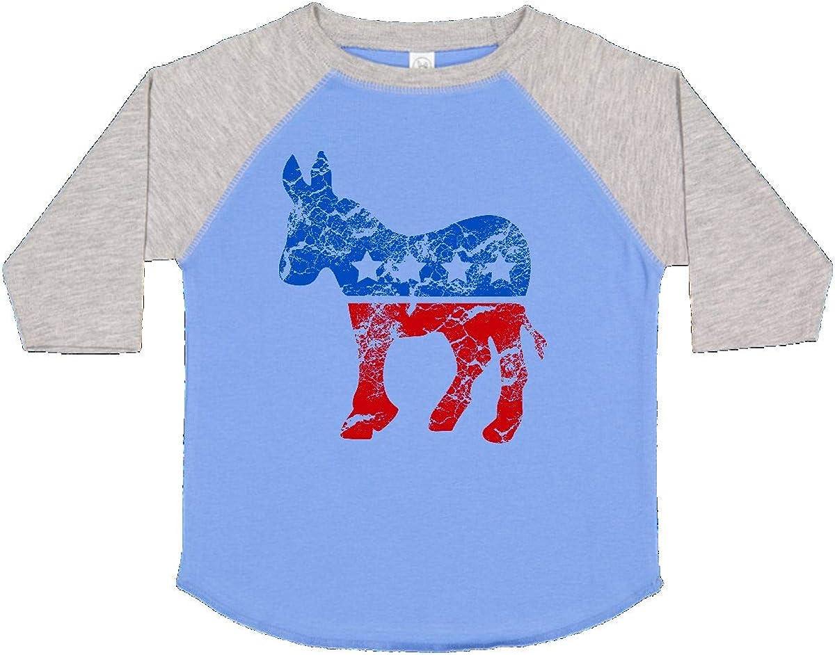 inktastic Donkey Future Democrat Long Sleeve Creeper