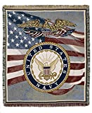 united states navy blanket - Simply Home U. S. Navy tapestry throw