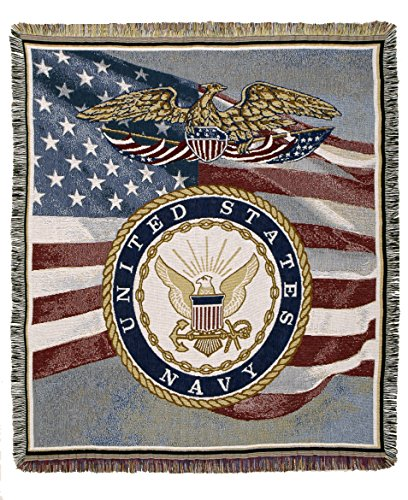 U. S. Navy tapestry throw - United States Navy Seal Seals