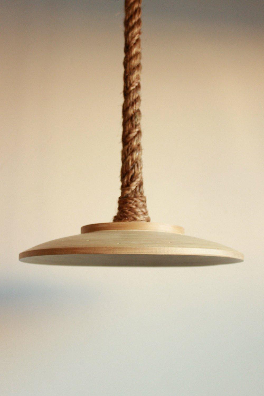 cheaper c9279 6638c Amazon.com: Rope Pendant Light manila rope for pendent ...