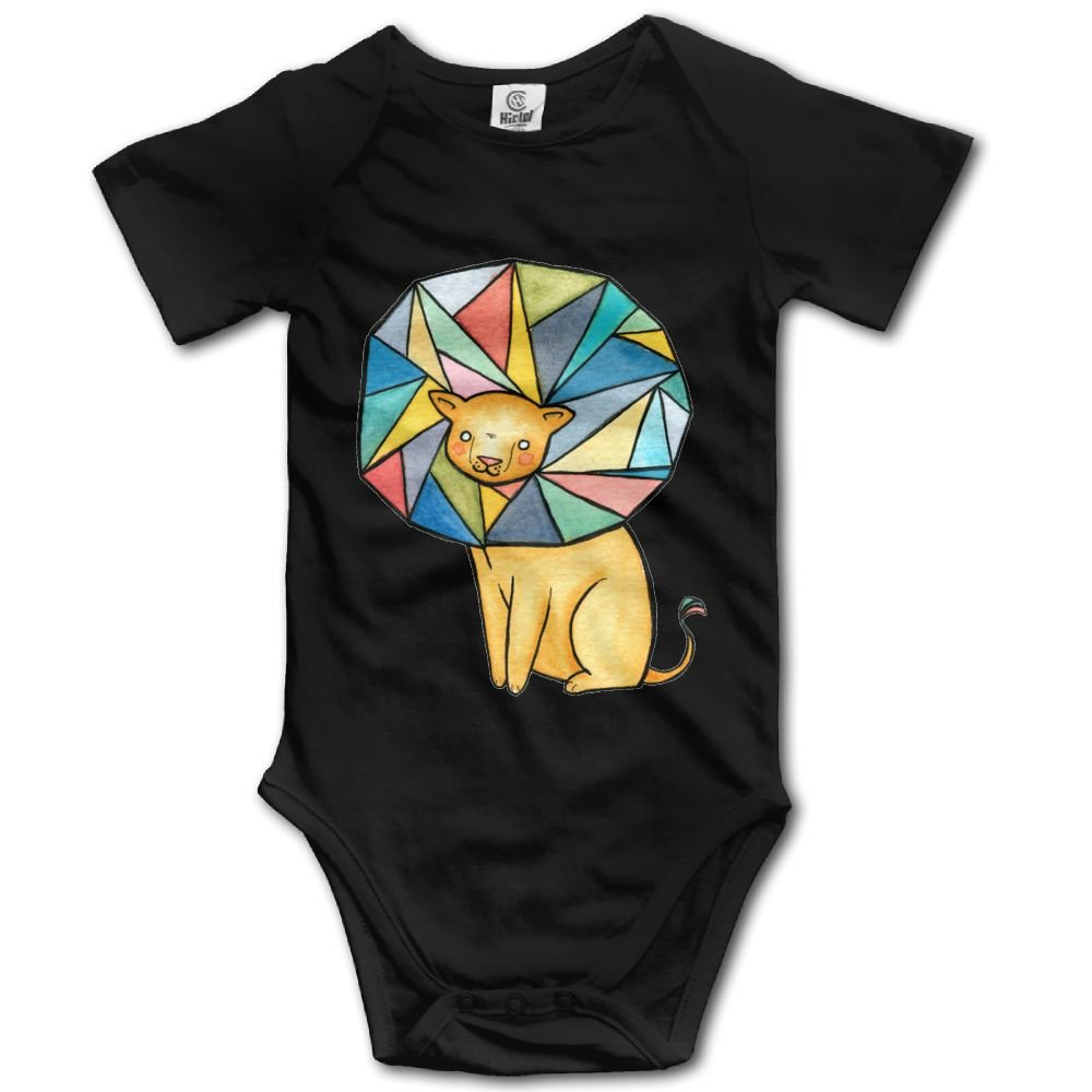 Rainbowhug Unique Lion Unisex Baby Onesie Lovely Newborn Clothes Unique Baby Outfits Soft Baby Clothes