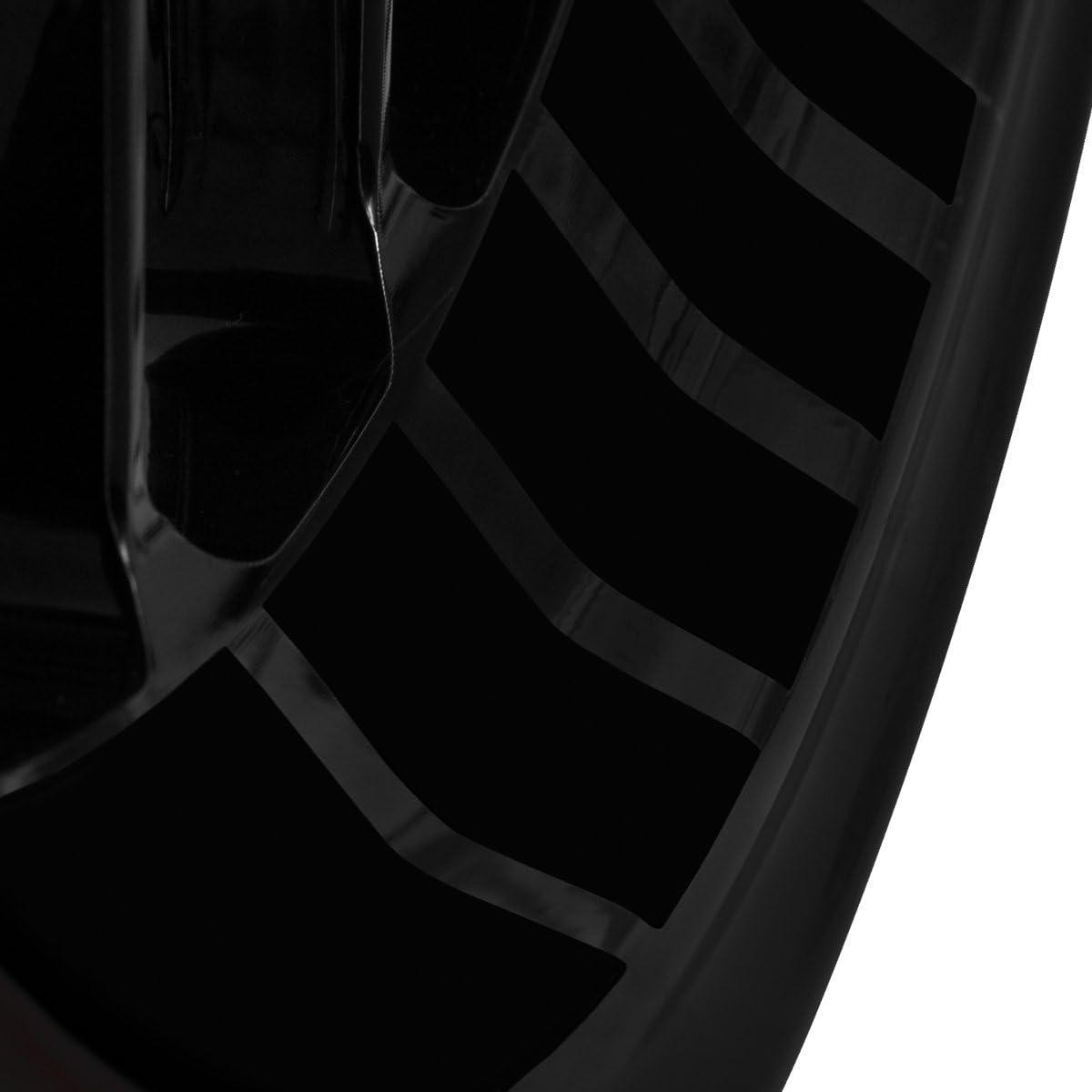 Farbe /& Breite w/ählbar Motoking Felgenbettaufkleber im GP Design Komplettset f/ür 16 bis 19