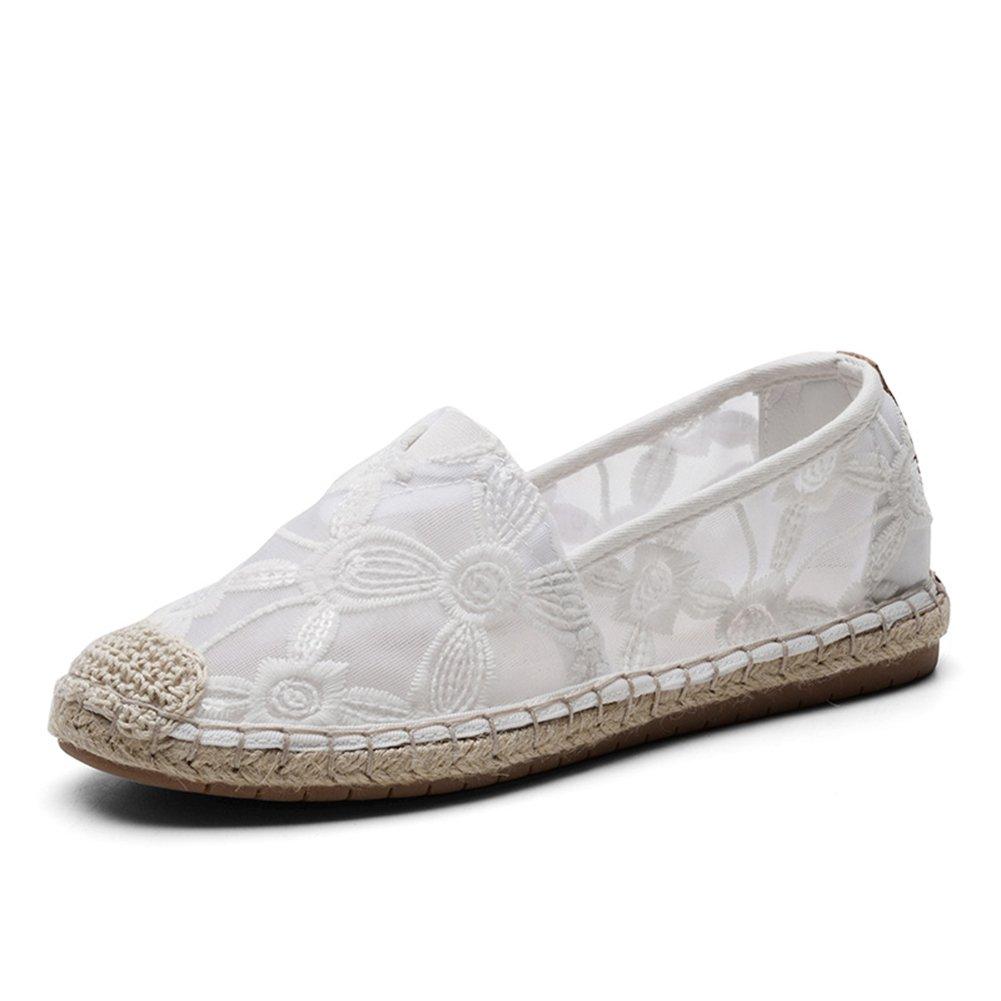 TIOSEBON HK2301 - Zapatillas para Mujer 38 EU|2306 White