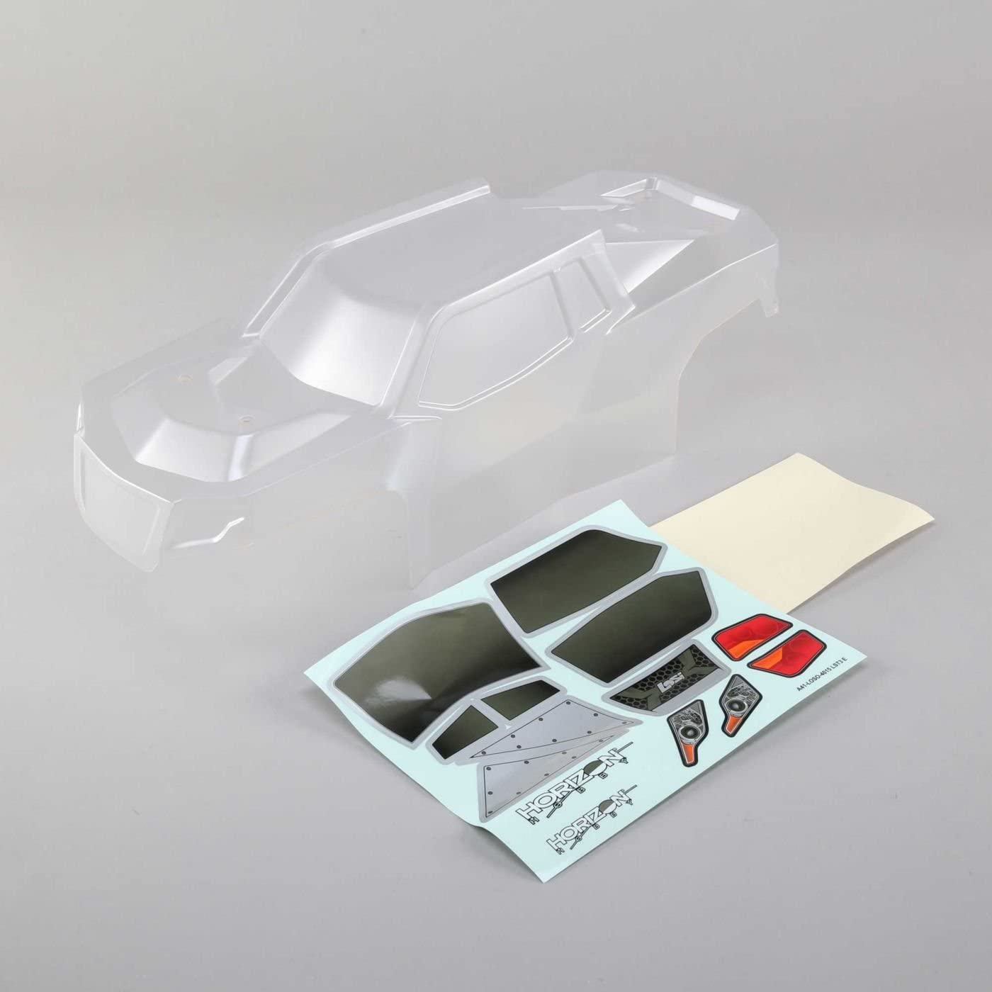 LOS Body Set with Window Mask, Clear Hobby Rc Vehicles