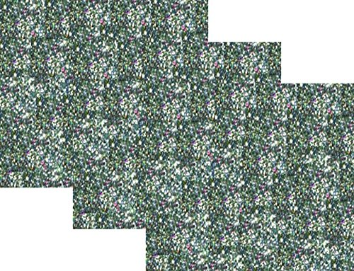 10 x12 1 foot 3 sheets glitter