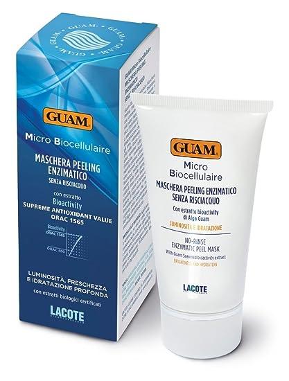 Guam Micro bioc ellul Aire enzima exfoliante de máscara para ...