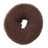 Diane Hair Donut, Brown, Small