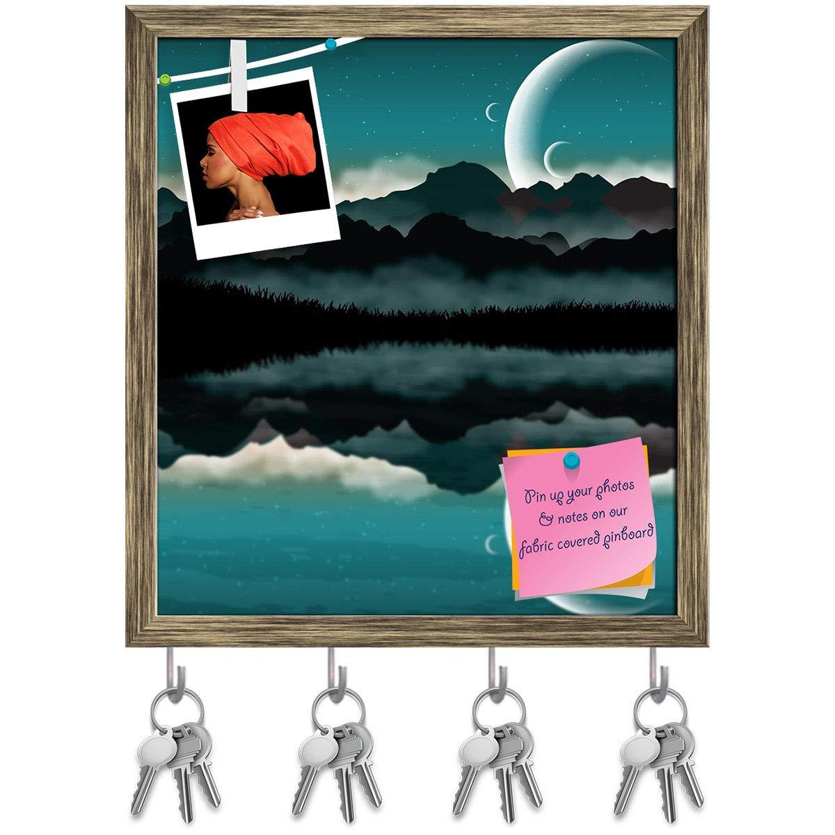 Amazon.com: Artzfolio Science Fiction - Perchero de pared ...
